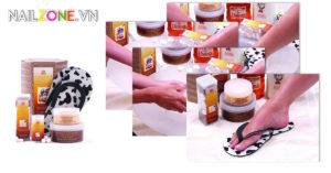 Chăm sóc da và móng với Cuccio Naturalé tinh chất Sữa và Mật ong