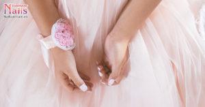 Xuân dịu dàng – Mẫu nail sáng tạo với các mảng màu nước | NailsVietnam