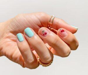 DIY Mẫu Nail Đẹp Cherry Mùa Hè Cho Bạn Mê Tít