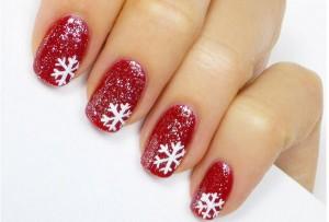 Hướng Dẫn Vẽ Nail Bông Tuyết Noel Lung Linh