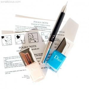 Bộ Sản Phẩm Nail Mới: LE Dior Polka Dots