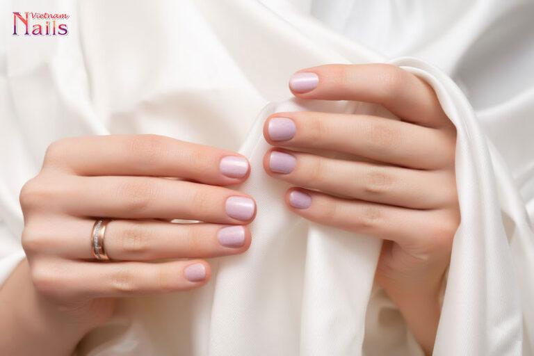 Mê mẩn với những mẫu nail màu trơn đẹp 2021 | NailsVietNam