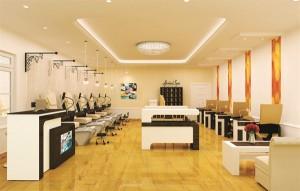 Nội Thất Salon Nail Kiểu Dáng Đẹp & Phong Cách