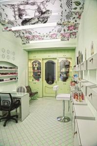 Ý Tưởng Thiết Kế Salon Nail: Tình Yêu Paris